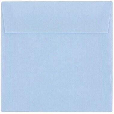 JAM Paper® 6 x 6 Square Envelopes, Surf Blue Translucent Vellum, 25/pack (1591925)