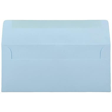 JAM Paper® #10 Business Envelopes, 4 1/8 x 9 1/2, Baby Blue, 1000/carton (2155778B)