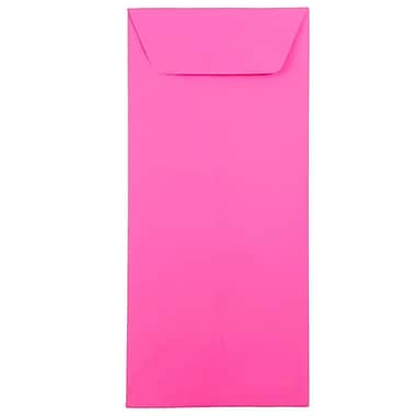 JAM Paper® #12 Policy Envelopes, 4.75 x 11, Brite Hue Ultra Fuchsia Pink, 500/box (3156396H)