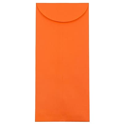 JAM Paper® #14 Policy Envelopes, 5 x 11.5, Brite Hue Orange Recycled, 500/box (3156405H)
