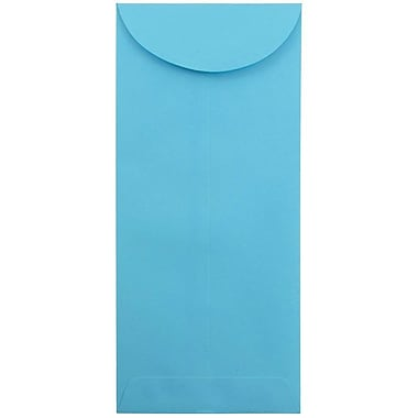 JAM Paper® #14 Policy Envelopes, 5 x 11.5, Brite Hue Blue Recycled, 1000/carton (3156407B)