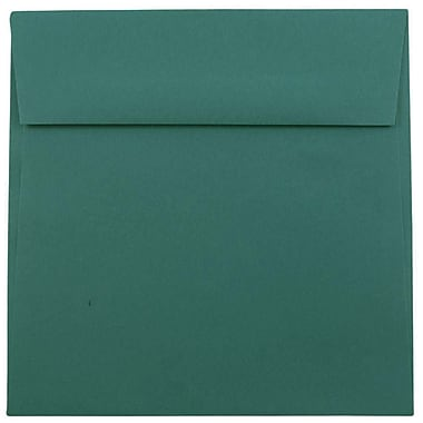 JAM Paper® 8.5 x 8.5 Square Envelopes, Teal Blue, 1000/carton (3157507B)