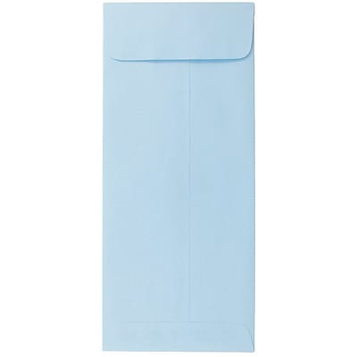 JAM Paper® #10 Policy Envelopes, 4 1/8 x 9 1/2, Baby Blue, 1000/carton (3961300B)