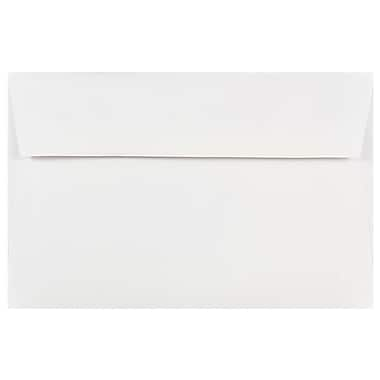 JAM Paper® A9 Invitation Envelopes, 5.75 x 8.75, White, 250/box (4023213H)