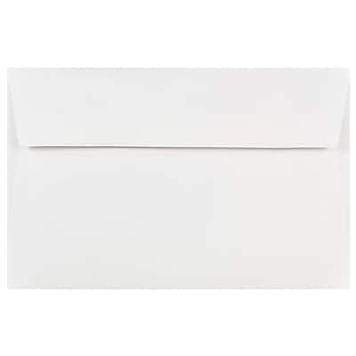 JAM Paper® A9 Invitation Envelopes, 5.75 x 8.75, White, 50/pack (4023213I)