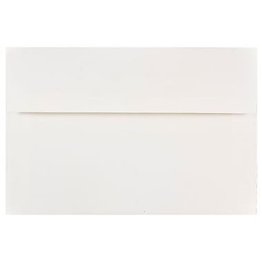 JAM Paper A8 Invitation Envelopes, 5.5 x 8.125, White, 100/Pack