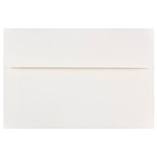 JAM Paper® A8 Invitation Envelopes, 5.5 x 8.125, White, Bulk 250/Box (4023981H)