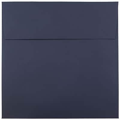 JAM Paper® 6 x 6 Square Envelopes, Navy Blue, 25/pack (6394884)