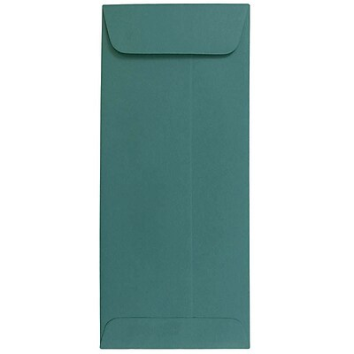 JAM Paper® #10 Policy Envelopes, 4 1/8 x 9 1/2, Teal Blue, 25/pack (21512995)