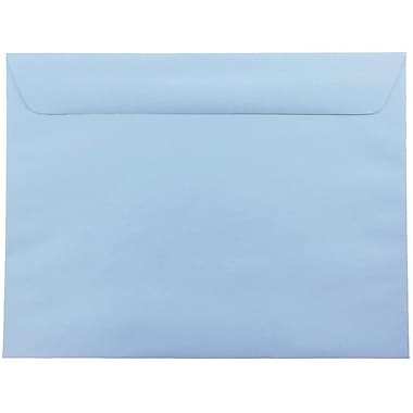 JAM Paper® 9 x 12 Booklet Envelopes, Baby Blue, 1000/carton (21515987B)