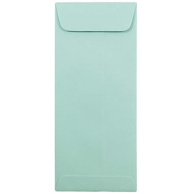JAM Paper® #10 Policy Envelopes, 4 1/8 x 9 1/2, Aqua Blue, 25/pack (21520986)