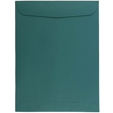 JAM Paper® 9 x 12 Open End Catalog Envelopes, Teal Blue, 25/pack (31287536)