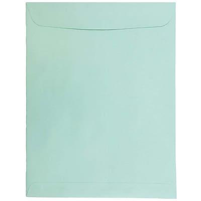 JAM Paper® 10 x 13 Open End Catalog Envelopes, Aqua Blue, 25/pack (31287539)