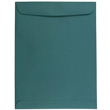 JAM Paper® 10 x 13 Open End Catalog Envelopes, Teal Blue, 25/pack (31287545)