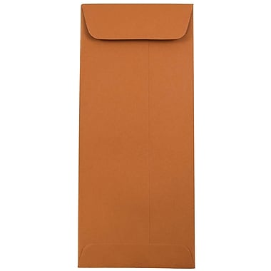 JAM Paper® #10 Policy Envelopes, 4 1/8 x 9 1/2, Dark Orange, 25/pack (31511354)
