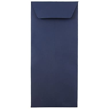 JAM Paper® #12 Policy Envelopes, 4.75 x 11, Navy Blue, 1000/carton (33966427B)