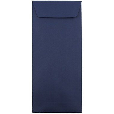 JAM Paper® #14 Policy Envelopes, 5 x 11.5, Navy Blue, 1000/carton (33966428B)
