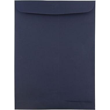 JAM Paper® 9 x 12 Open End Catalog Envelopes, Navy Blue, 10/pack (51287431C)