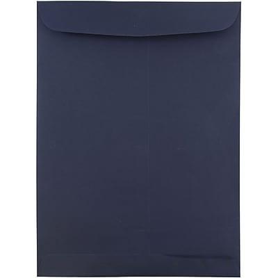 JAM Paper® 9 x 12 Open End Catalog Envelopes, Navy Blue, 25/pack (51287431)