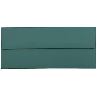 JAM Paper® #10 Business Envelopes, 4 1/8 x 9 1/2, Teal Blue, 25/pack (63924024)