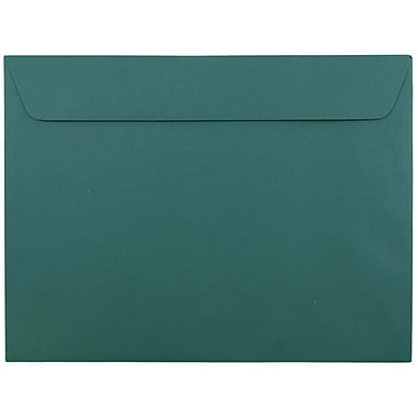 JAM Paper® 9 x 12 Booklet Envelopes, Teal Blue, 1000/carton (272316030B)