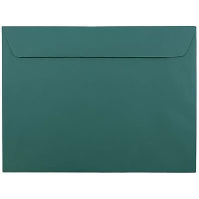 JAM Paper® 9 x 12 Booklet Envelopes, Teal Blue, 25/pack (272316030)
