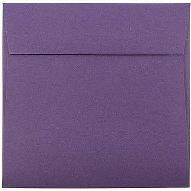 JAM Paper® 6 x 6 Square Envelopes, Dark Purple, 25/pack (563912522)