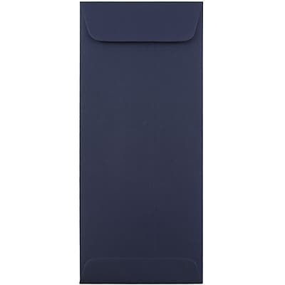 JAM Paper® #10 Policy Envelopes, 4 1/8 x 9 1/2, Navy Blue, 25/pack (LEBA317)
