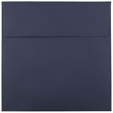 JAM Paper® 8.5 x 8.5 Square Envelopes, Navy Blue, 25/pack (LEBA567)