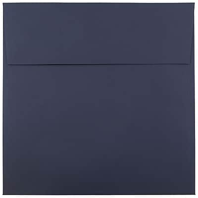 JAM Paper® 8.5 x 8.5 Square Envelopes, Navy Blue, 1000/carton (LEBA567B)