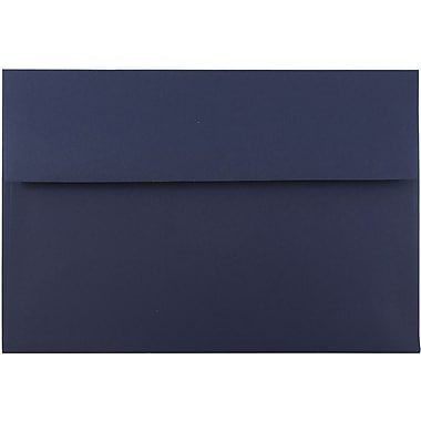 JAM Paper® A8 Invitation Envelopes, 5.5 x 8.125, Navy Blue, 25/pack (LEBA767)