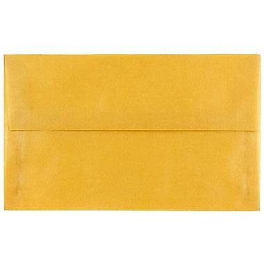 JAM Paper® A10 Invitation Envelopes, 6 x 9.5, Translucent Vellum Gold, 250/box (PACV867H)
