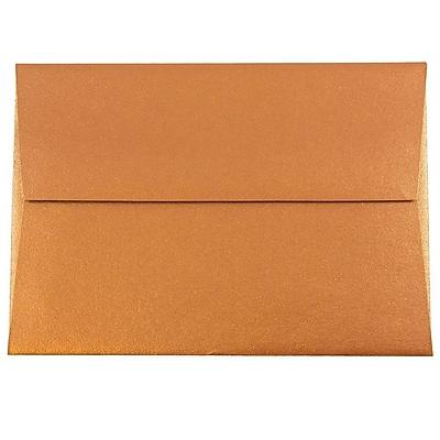 JAM Paper® 4bar A1 Envelopes, 3 5/8 x 5 1/8, Stardream Metallic Copper, 1000/carton (V018246B)