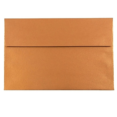 JAM Paper® A10 Invitation Envelopes, 6 x 9.5, Stardream Metallic Copper, 1000/carton (V018301B)