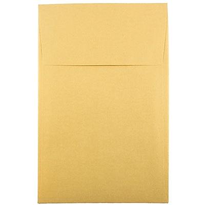 JAM Paper® A10 Policy Envelopes, 6 x 9.5, Stardream Metallic Gold, 1000/carton (V018304B)