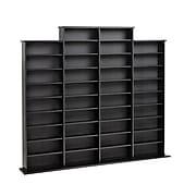 Prepac™ Quad Width Wall Storage, Black