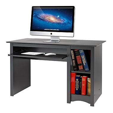 prepac computer desk black staples