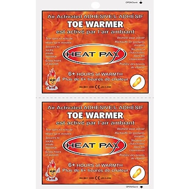TechNiche Heat Pax™ Air Activated 6+ Hour Adhesive Toe Warmer, 40 Pair