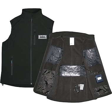TechNiche IONGEAR™ Battery Powered Heating Vest, Black, Large