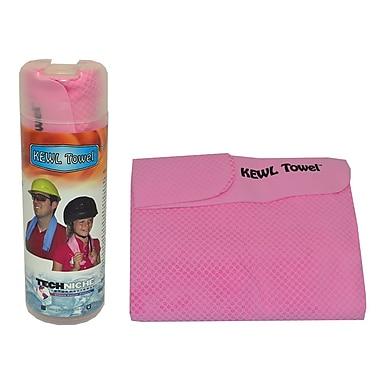 TechNiche Kewltowel™ Evaporative Cooling Towel, Pink