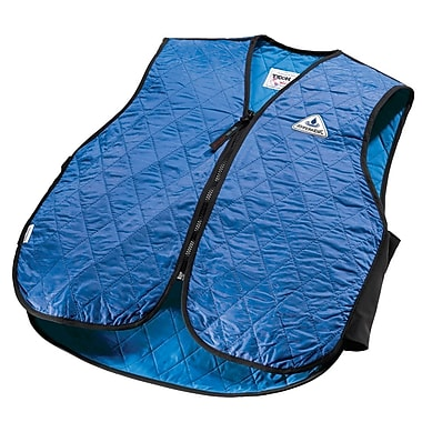 TechNiche HYPERKEWLMC — Veste de sport à refroidissement par évaporation d'eau, bleu, TTTG