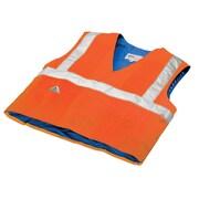 TechNiche HYPERKEWL™  Evaporative Cooling Traffic Safety CSA Class II Compliant Vest, Hi-Viz Orange