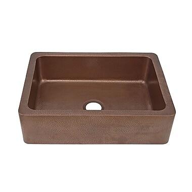 Sinkology 33'' x 22'' Single Bowl Kitchen Sink