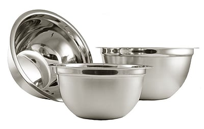 YBM Home 3 Piece Stainless Steel Mixing