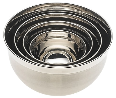 YBM Home 4 Piece Stainless Steel Mixing