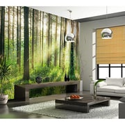 WallPops! Sunset in the Woods Wall Mural