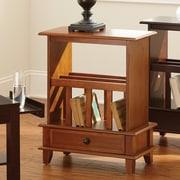 Steve Silver Furniture Jordan End Table; Oak