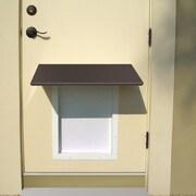 PlexiDor Universal Pet Door Awning; Bronze