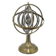 Three Hands Brass Globe