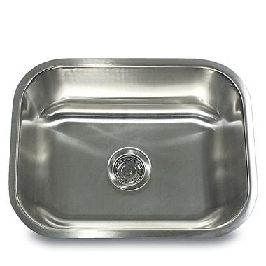 Nantucket Sinks Quidnet 23'' x 17.75'' Undermount Kitchen Sink